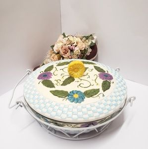 Temp-tations Presentable Ovenware Dish with holder